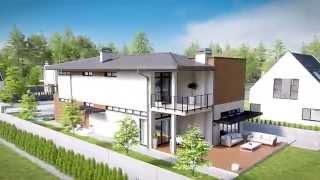 Проект дома для узкого участка X11 от Архитектурной студии POLLIO(, 2014-03-16T19:27:12.000Z)