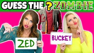 Guess the Disney Zombies Character's Clothes. Totally TV