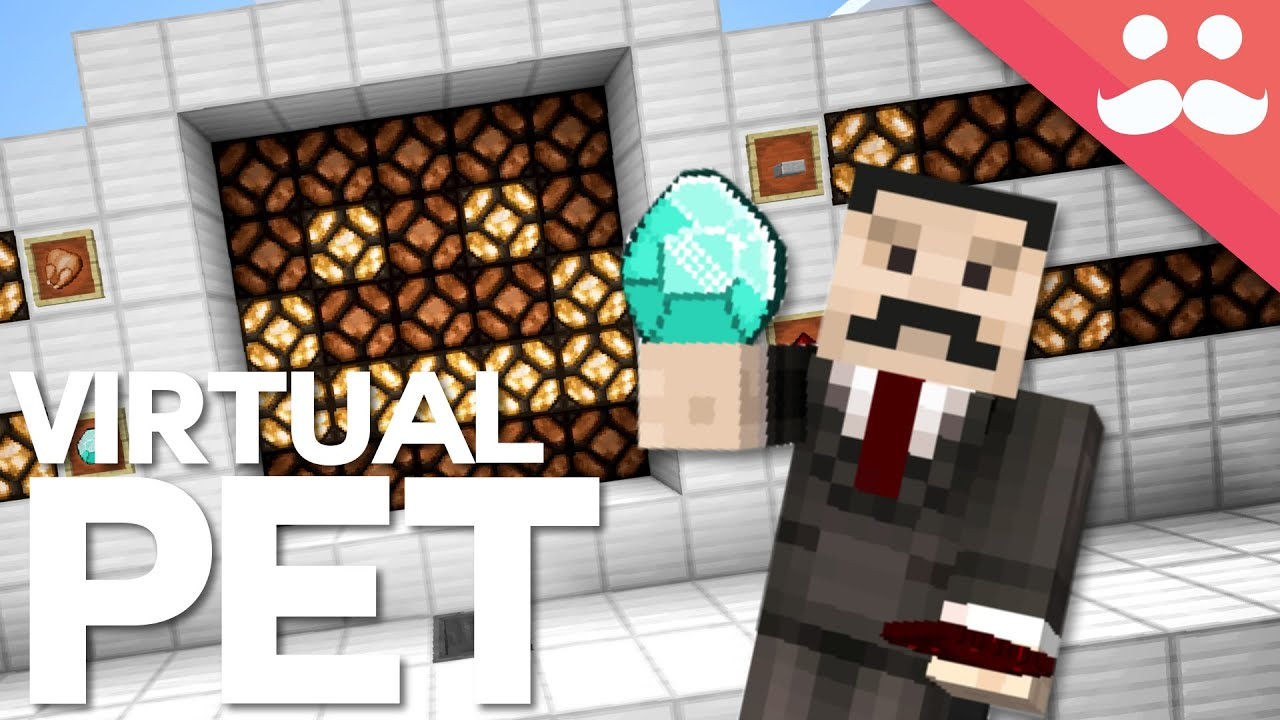 how to build a virtual pet in minecraft youtube
