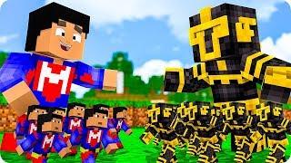 Soldados De Massi Vs Soldados De Elyas En Minecraft 😱