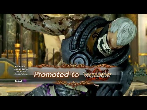TEKKEN 7 - Bryan Fury Online Ranked Matches #3 - VANQUISHER Rank 16 Dan (1080p 60fps) PS4 Pro