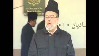 (Urdu Speech) Inam Ghori Sb Nazir-e-Ala Qadian at Jalsa Qadian 2010