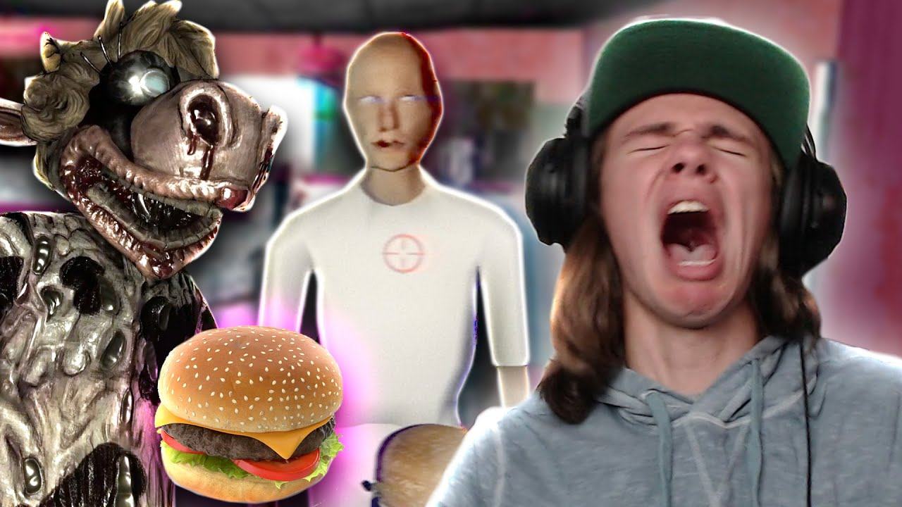 SCARY BURGER SIMULATOR MADE ME RETHINK MY LIFE. | Happy Humble Burger Barn