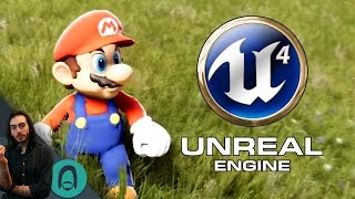 FAN GAME IN UNREAL ENGINE 4!?!?!!?