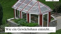 Garten und Gewächshaus
