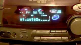 Vintage Audio Systems - Kenwood XD 500 Mini Hi Fi Component System
