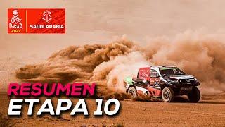 Al-Rajhi gana y Peterhansel se aferra al liderato | Resumen Etapa 10 Dakar 2021 - SoyMotor.com