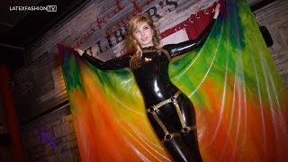 Rubber Cult with Rebecca from Yummy Gummy - February 2015 | LatexFashionTV