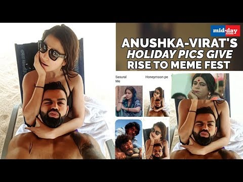 Anushka Sharma And Virat Kohli's Holiday Pictures Gives Rise To A Meme Fest Mp3