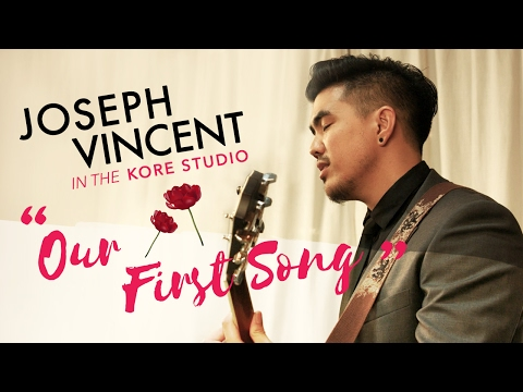 "In The Kore Studio - Joseph Vincent ""Our First Song"""