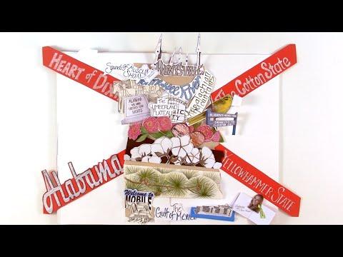 Mobile Lights (Alabama) - #50StatesAlbum - #Paperslide Music Video