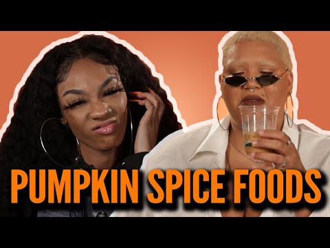 Black People Try Popular Pumpkin Spiced Foods