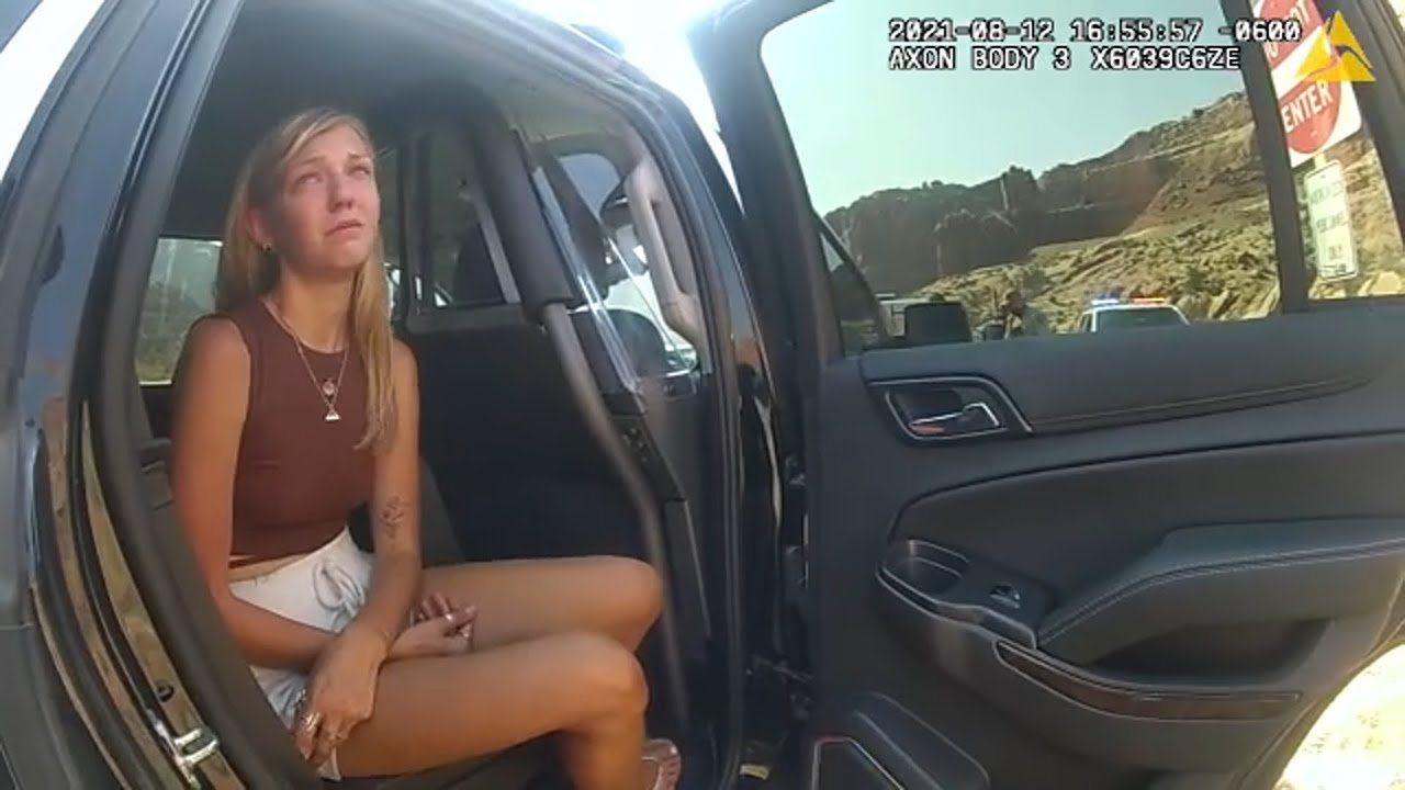 Download FULL VIDEO: Police body camera of interaction with Gabby Petito, boyfriend