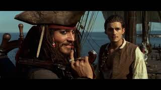 Best Scene-Jack Sparrow steals the interceptor (Pirates of the Caribbean)
