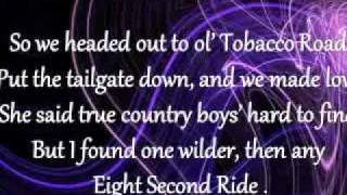 eight second ride jake owen