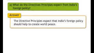 E-class Std7 Civics Question and Answer English