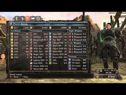 Dark Souls  Lvl  Hex Build
