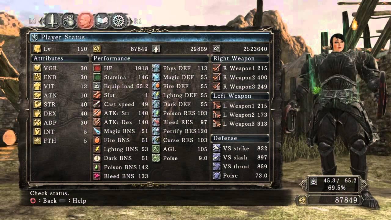 Dark Souls Dex Build