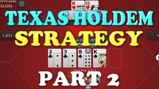 """""""Texas Holdem Strategy"""" Real Cash 