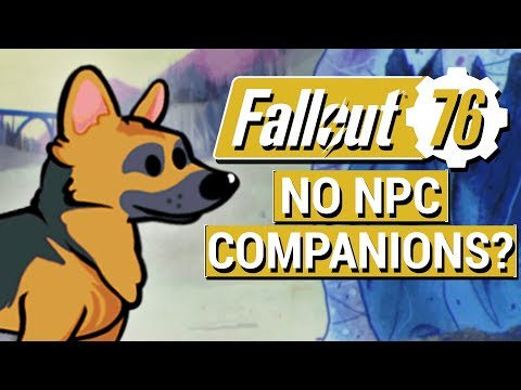 FALLOUT 76: Pete Hines Shares NEW Info on NPC Companions and PVP Combat in Fallout 76!!