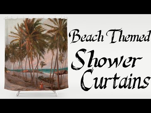 Shower Curtains - Beach Themed