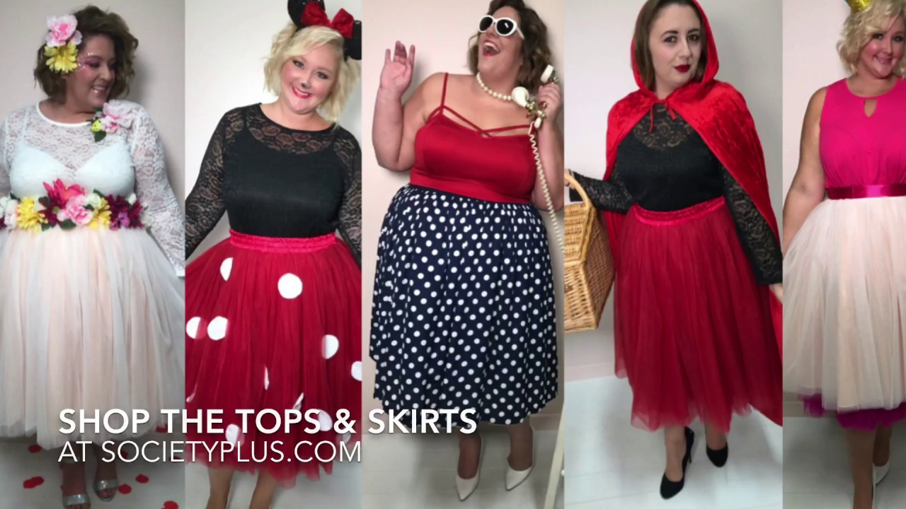 Plus Size DIY Halloween Costume Ideas Look Book