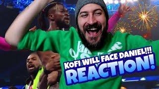 KOFI KINGSTON WILL FACE DANIEL BRYAN AT WWE FASTLANE 2019!!! WWE SD Live Reaction
