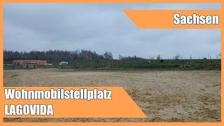 Wohnmobilstellplatz / Wohnmobilhafen LAGOVIDA Großpösna im Leipziger Neuseenland