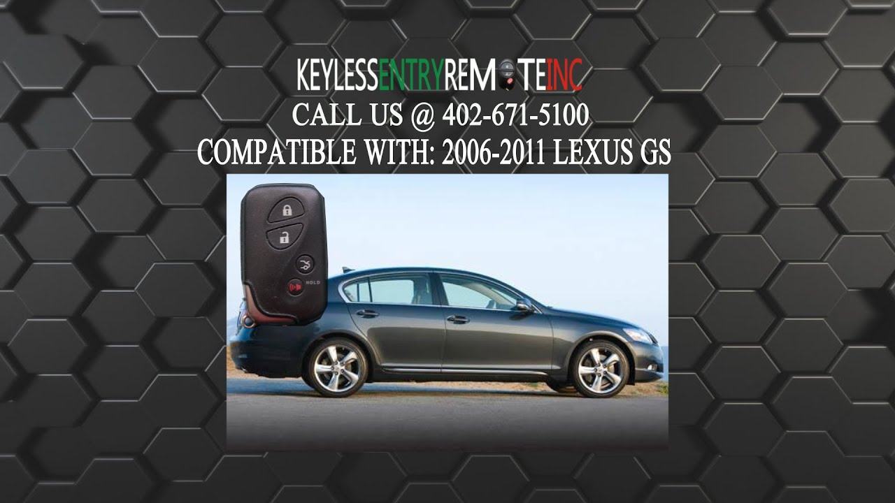 lexus key fob battery replacement