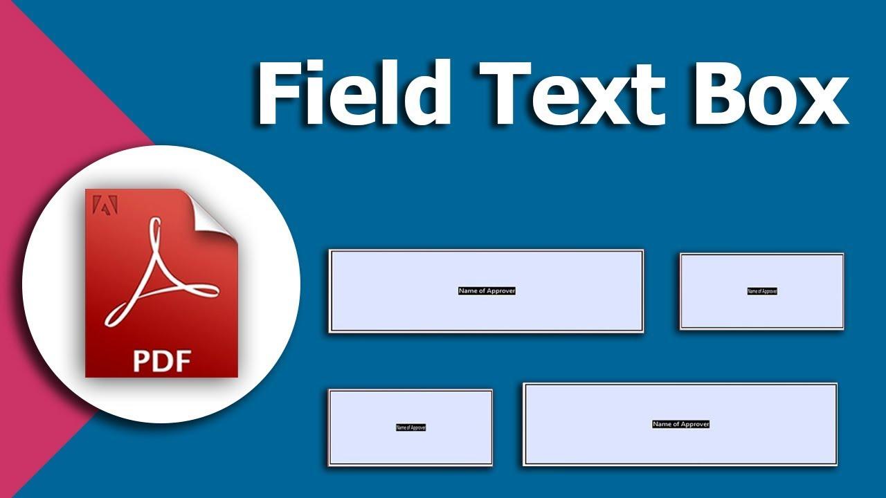 add textbox to pdf