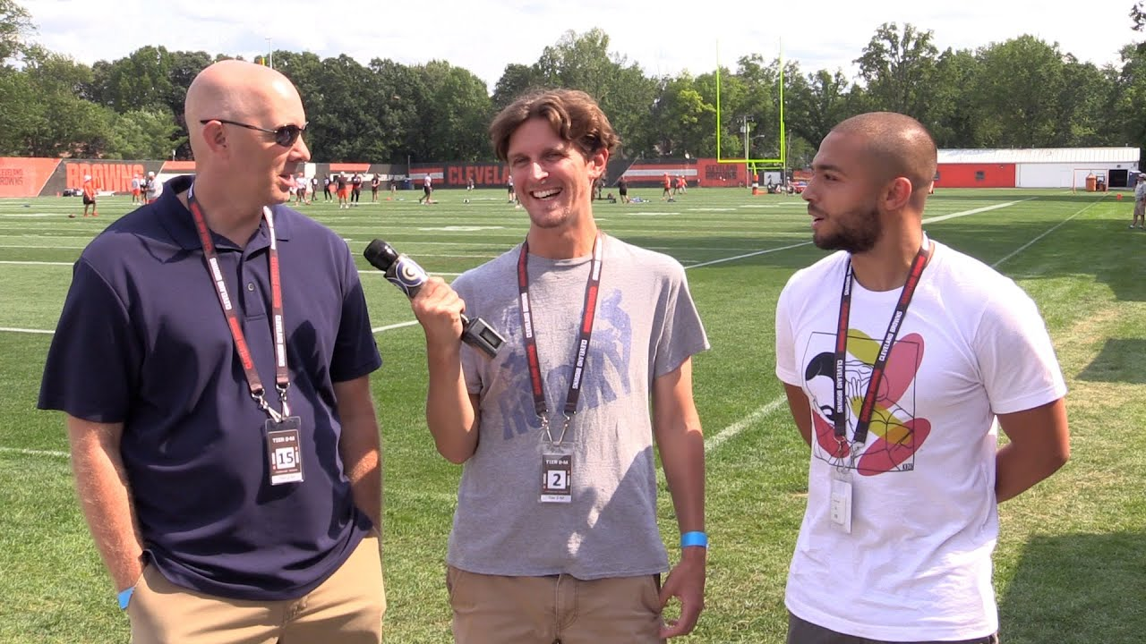 Download A good day for the defense: Browns training camp report Day 4