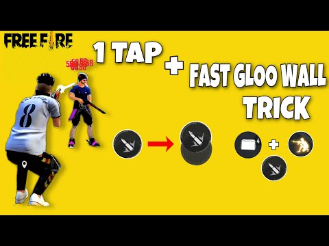 Secret Trick For One Tap + Fast Gloo Wall In Garena Free Fire