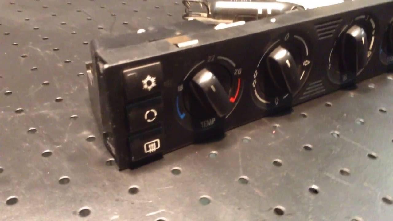 инструкция использования климат контроля bmw e32