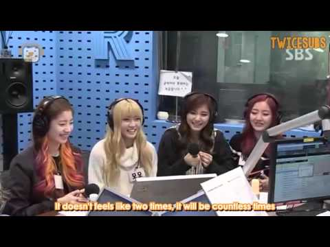 [ENG] 151027 Power Time Radio - Twice
