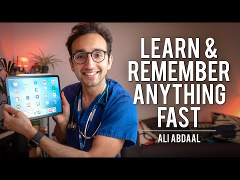 How To Learn & Remember Anything, Fast | Ali Abdaal | Modern Wisdom Podcast #231