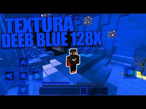Texture Pack PvP Deeb Blue 128x MINECRAFTPE 1.2!