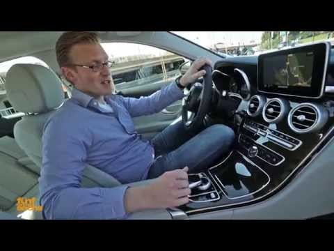 Our Test Drive of the New Mercedes-Benz C-Class W205 (German)