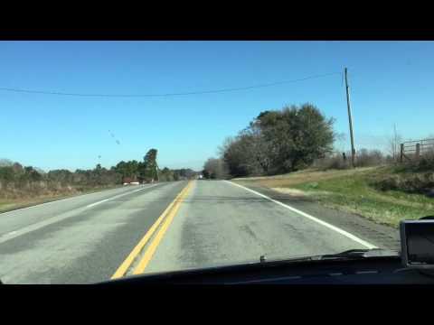 Driving through South Georgia, listening to the radio