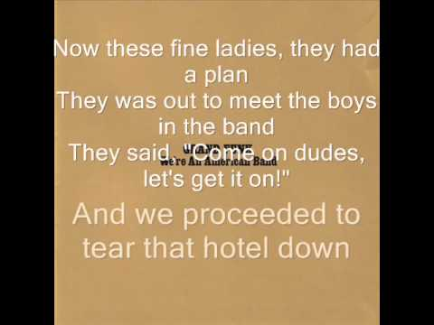 Grand Funk Railroad - We're An American Band (With Lyrics)