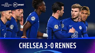 Chelsea v Rennes (3-0) | Champions League Highlights