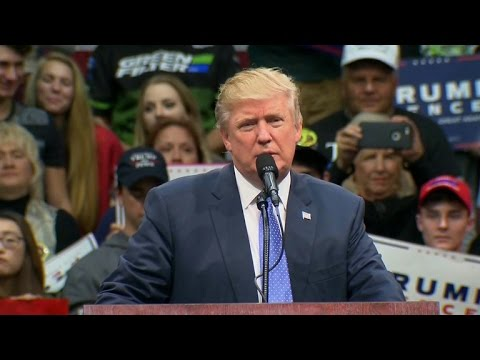 Donald Trump attacks media, voting system and first family