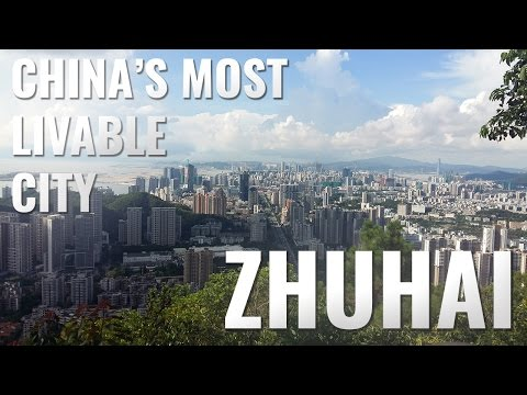 Zhuhai - China's most livable city!
