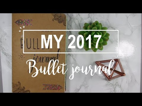 Download Youtube: MY 2017 BULLET JOURNAL!♡