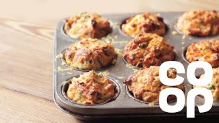 Easy Cheesy Muffin Scones