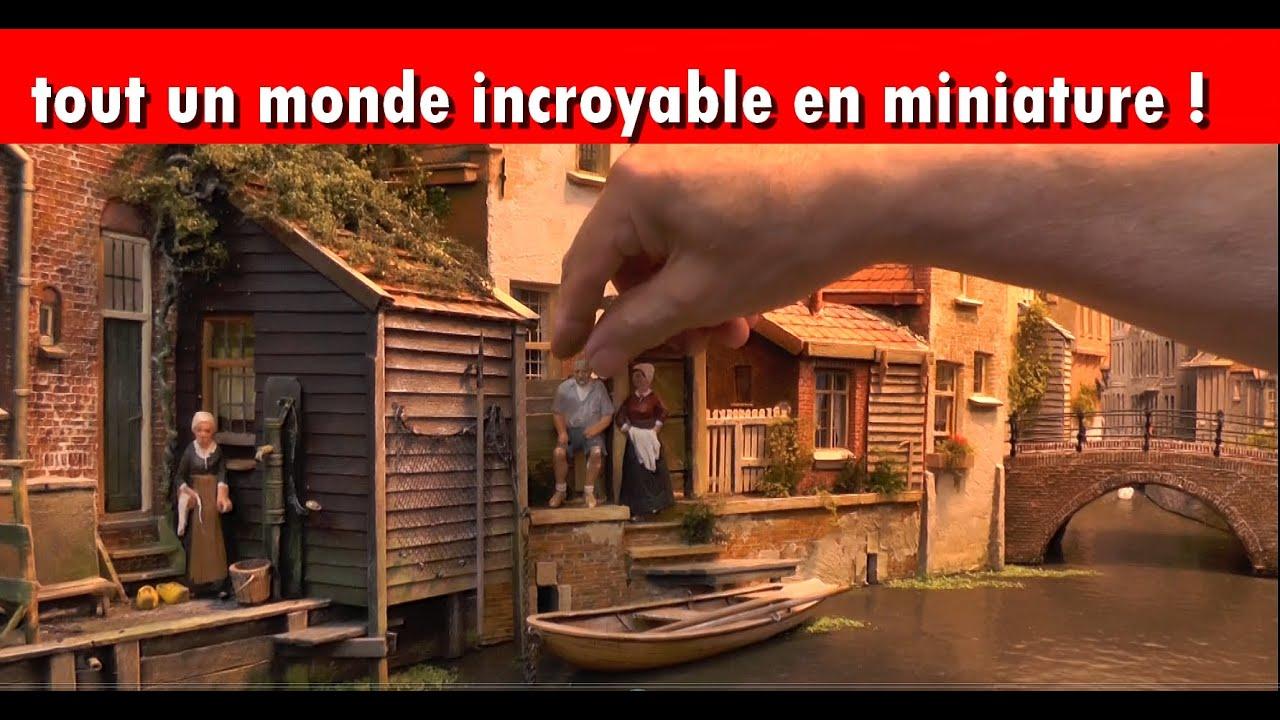 Comment faire des maquettes miniatures incroyables youtube - Comment faire une belle creche de noel ...