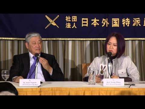 """Noriko Hama & Yukio Noguchi """"Abenomics and What comes After"""""""