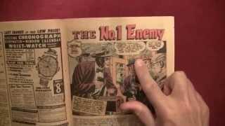 "Reading Comics: Wanted #45, 1952, Reefer Madness Propaganda, ""The No.1 Enemy"" [ASMR, Male]"