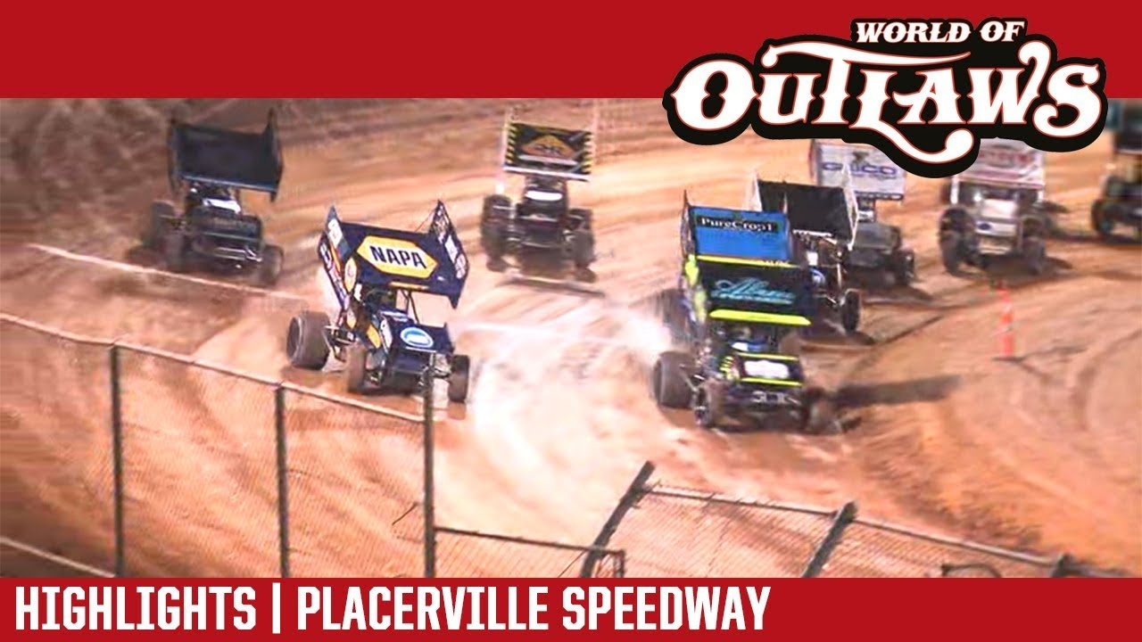 world-of-outlaws-craftsman-sprint-cars-placerville-speedway-september-12-2018-highlights