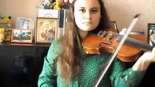 """Тема из вступительных титров сериала """"Великолепный век"""" (violin cover)"""