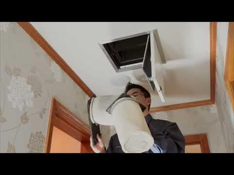 東急Re・デザイン 動画で見る住まいのメンテナンス 標準換気フィルターの清掃